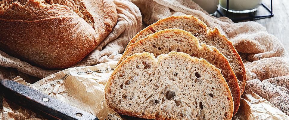 Chleb nanaturalnym zakwasie